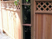 Conventional Panel Fence