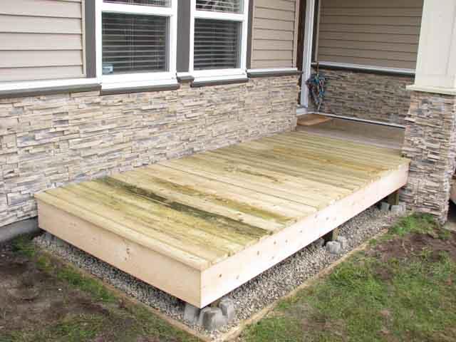 Mini Deck Hunterstruct Construction