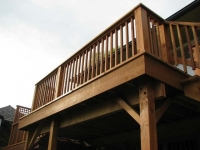 Quintessential Backyard Deck