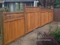 Squared Lattice Fence Panel